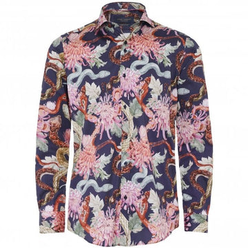 Guide London L/S Shirt Navy LS75447