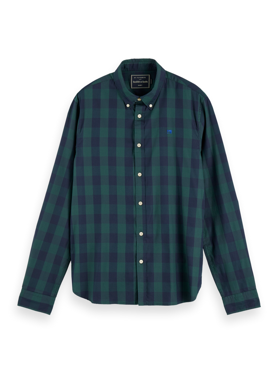 Scotch & Soda  Regular fit classic BB check LS Shirt - Alexanders on Tennyson