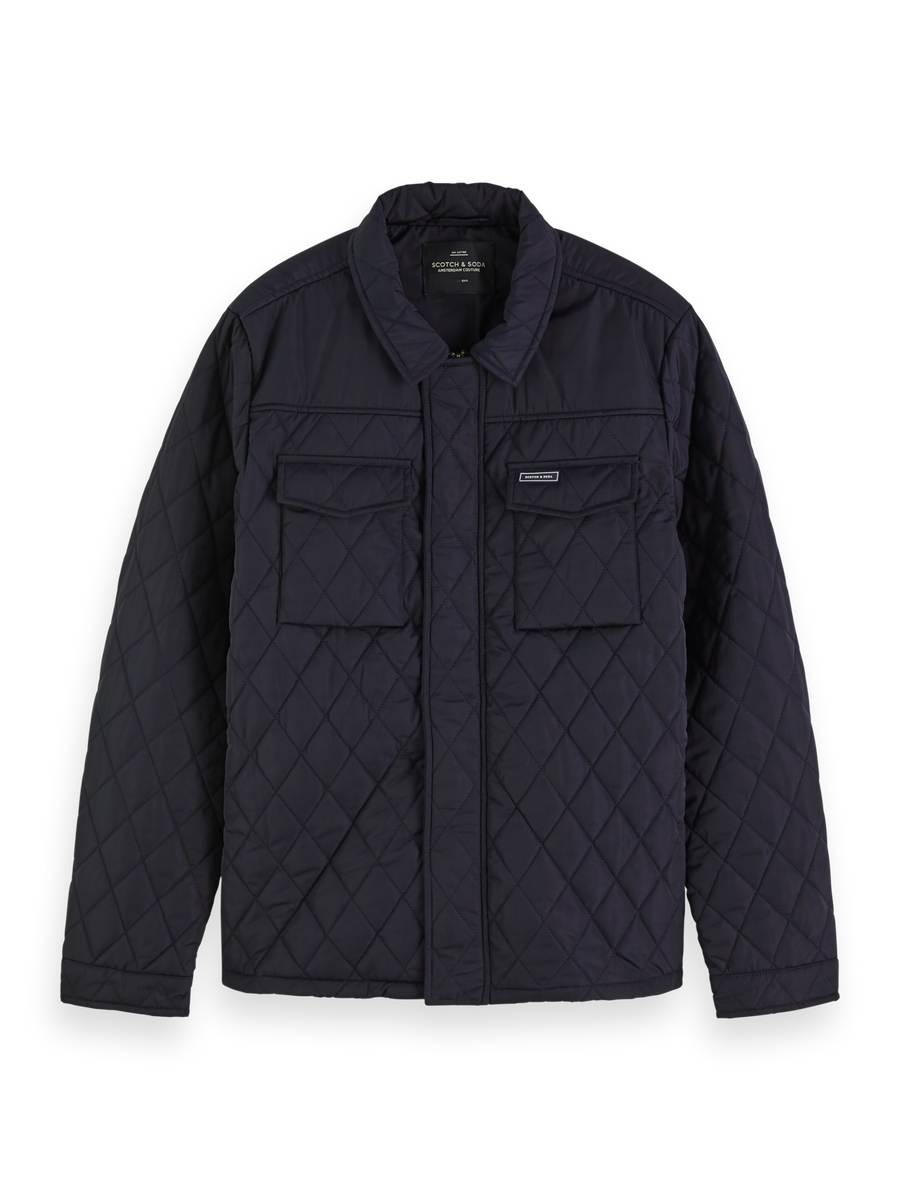Scotch & Soda Classic Quilted Shirt Jacket - Alexanders on Tennyson