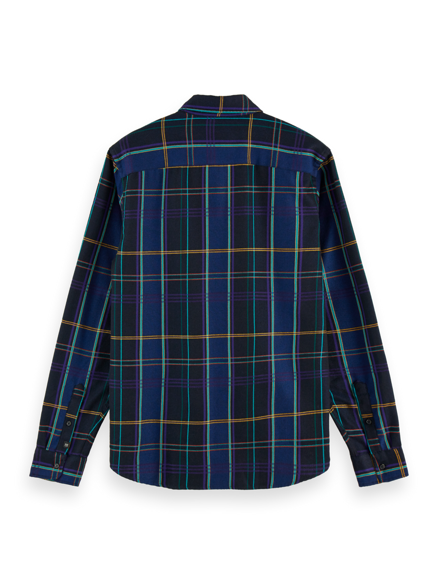 Scotch & Soda Seasonal Check Shirt: Combo A