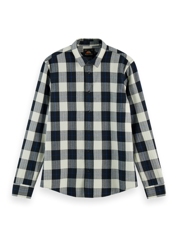 Scotch & Soda Classic Check Shirt: Combo C