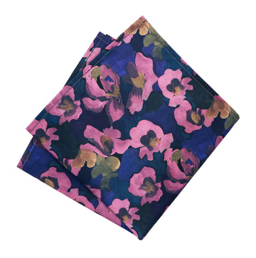 Parisian with Liberty Jemma Rose Pocket Square - Alexanders on Tennyson