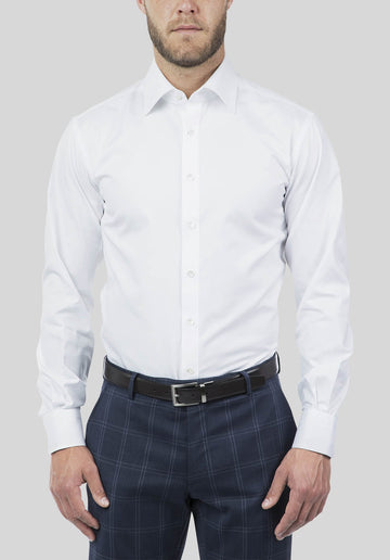 Joe Black Pioneer Shirt White