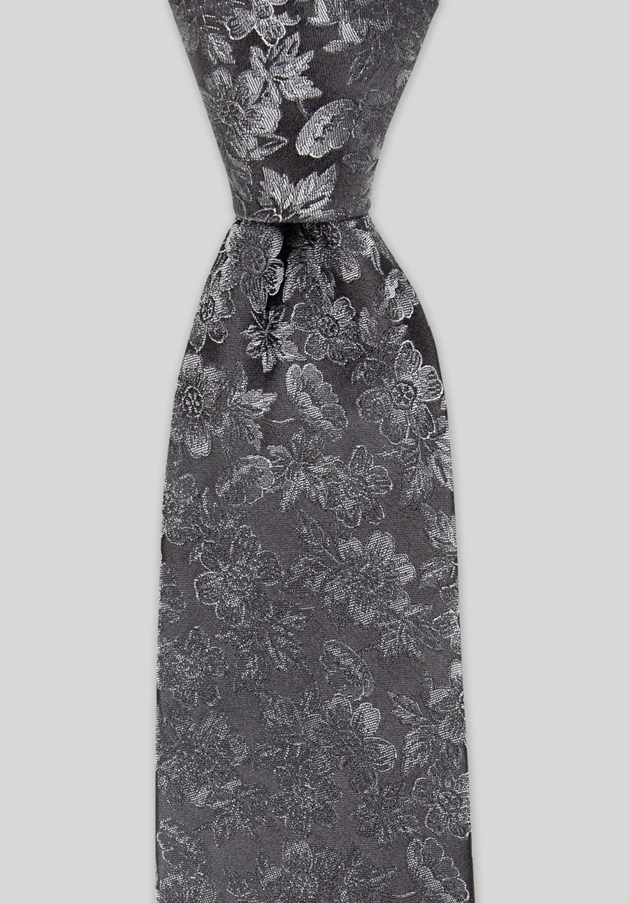 Joe Black Charcoal Tie