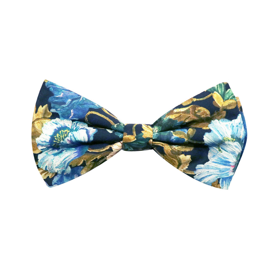 Parisian with Liberty Poppy Amelie Bow Tie - Alexanders on Tennyson