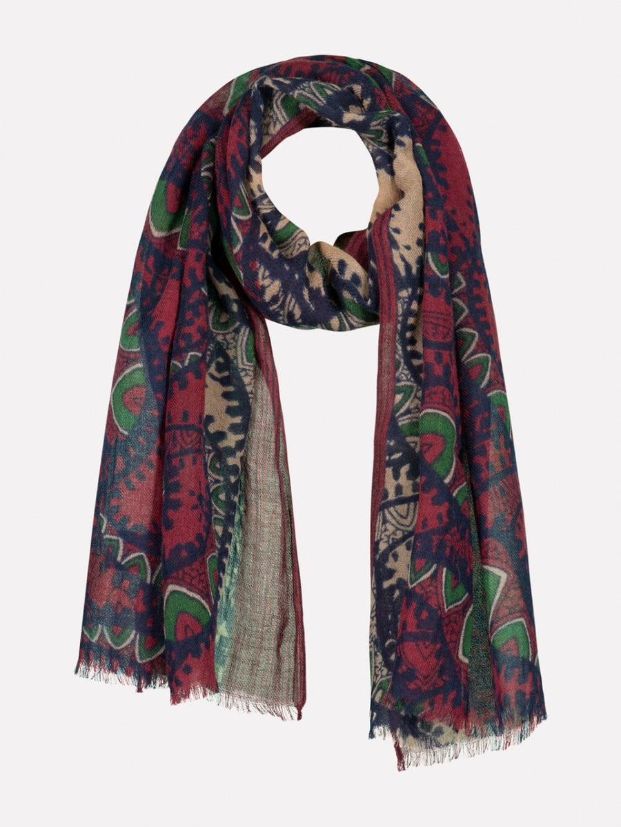 Dstrezzed Printed Fine Wool Scarf (Two Colours)