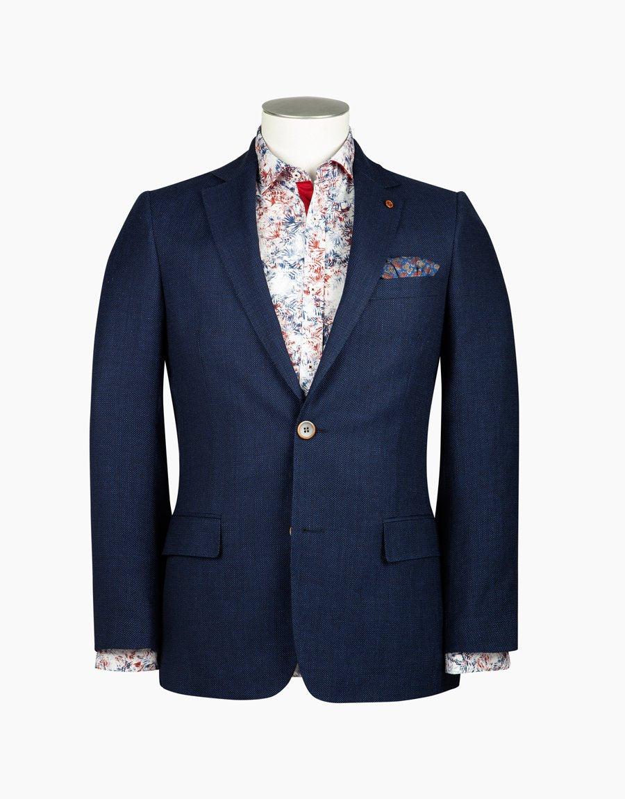 Rembrandt Navy Hawker Sports Coat