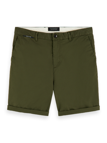 Scotch & Soda Classic Chino Shorts Military