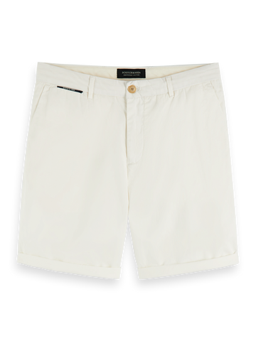 Scotch & Soda Classic Chino Shorts White