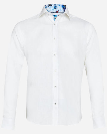Thomson & Richards L/S Shirt Pogba White
