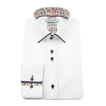 Guide London L/S Shirt White Linen 75486