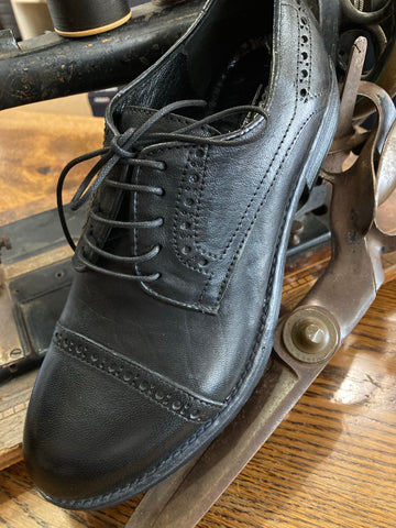 Italianio Black Shoes