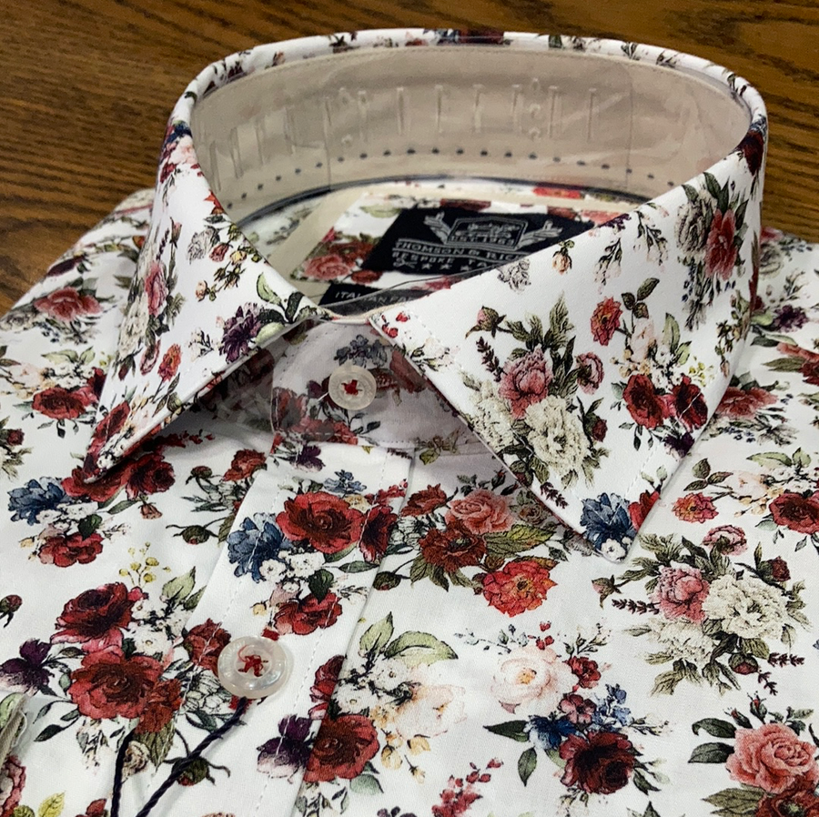 Thomson & Richards L/S Shirt Diogo Floral