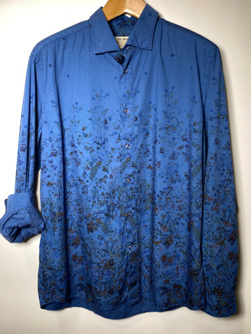 Fil Noir L/S Shirt Indigo - Alexanders on Tennyson