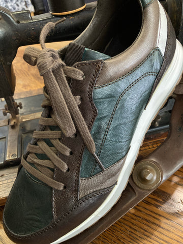 Italianio Forest/Brown Sneaker