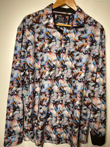 Thomson & Richards Abstract LS Shirt - Alexanders on Tennyson