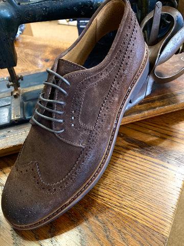 Drudd Nut Brown Suede Shoes