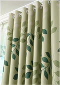 Tenda oscurante decorata con disegni di ramo d'ulivo 3 Blackout curtains W100cmxH200cm Hook
