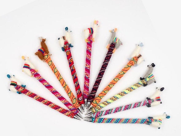 5 pack 10 PACK  20 - 40 PACK Wholesale Alpaca / Llama pen made in Peru by hand - Alpaca Retail