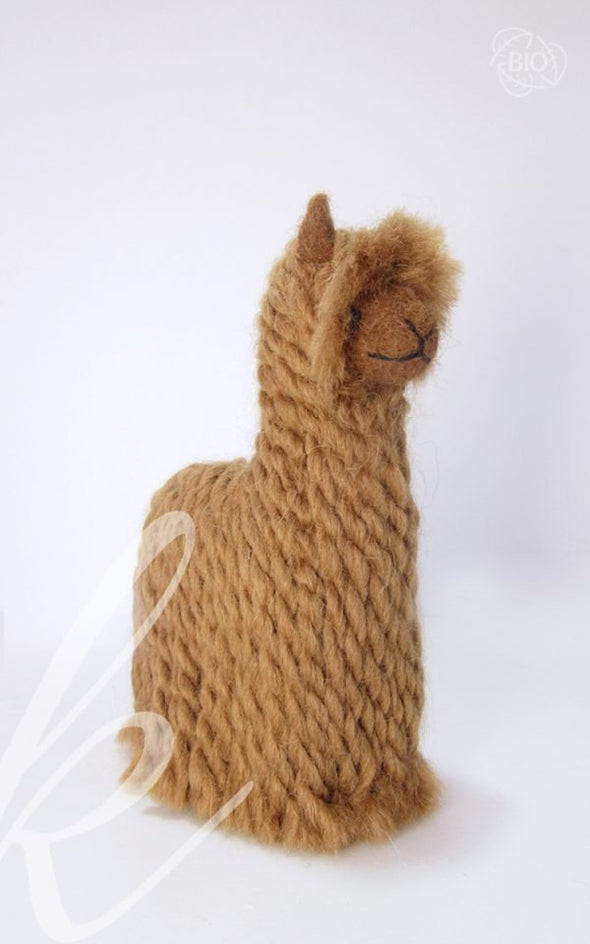 15 PACK Needle Felted Alpaca Sculptures: Felted Animals by Hand in Alpaca Fiber - wholesale - Alpaca Retail