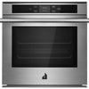"24"" Wall Oven, Soft Close Door, Capacitive Touch Controls, 2000W Convection Element, 2450W Grill, Meat Probe, 3.1 Cu Ft Capacity"