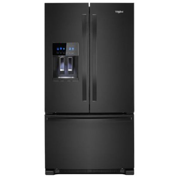 25.7 Cu Ft., Exterior Water And Ice Dispenser, Led Lighting, 1 Fixed/4 Adjustable Shelves, 2 Hc Crispers, Temp Controlled Pantry, 6 Door Bins, Energy Star