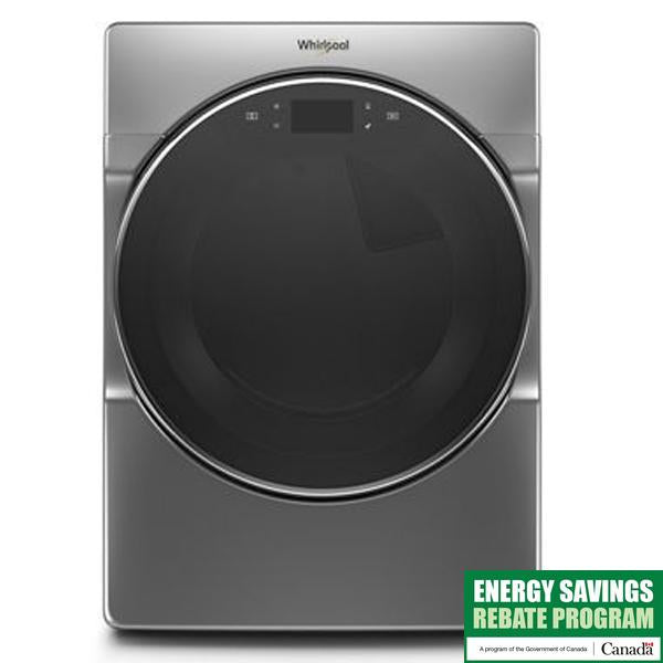 7.4 Cu Ft.,Wtd/Htd Cycles, Advanced Moisture Sensing,  5 Temperatures,  Stainless  Steel Drum, Steam, Interior Light, Connectivity, Lcd Touch Pad Screen, Energy Star