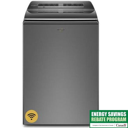 6.1 cu. ft. Capacity, 35 Wash Cycles, 5 Temperature Settings, 850 RPM Washer Spin Speed, Wifi Enabled, ENERGY STAR Certified