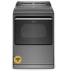 7.4 cu. ft. Capacity, 35 Dry Cycles, 5 Temperature Settings, Steel Drum, Steam Clean, Wifi Enabled,?