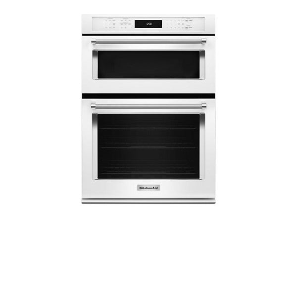 "30"" Combi, 5.0 Cu Ft./1.4 Cu Ft., True Convection, Hidden Bake, Self Clean (Lower), Extra Large Window, Flush Install Option, 900 Watts (1600Watts Convection)"