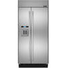 "Jenn-Air 42"", Advanced Integrated Lcd Ice & Water Dispenser, New Obsidian Interior, Multi-Point Led Lighting, Soft Close Cripsers, Climate Controlled Drawers, Capacitive Touch Controls, Produce Preserver, Elegance Shelving, Energy Star -Js42Ssdude"