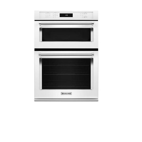 "27"" Combi, 4.3 Cu Ft./1.4 Cu Ft., True Convection, Hidden Bake, Self Clean(Lower), Extra Large Window, Flush Install Option, 900 Watts (1600 Watts Convection)"
