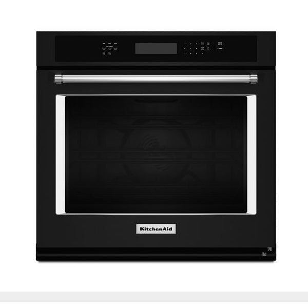"27"" Single, 4.3 Cu Ft., True Convection, Hidden Bake, Self Clean, Extralarge Window, Fit System, Flush Install Option"