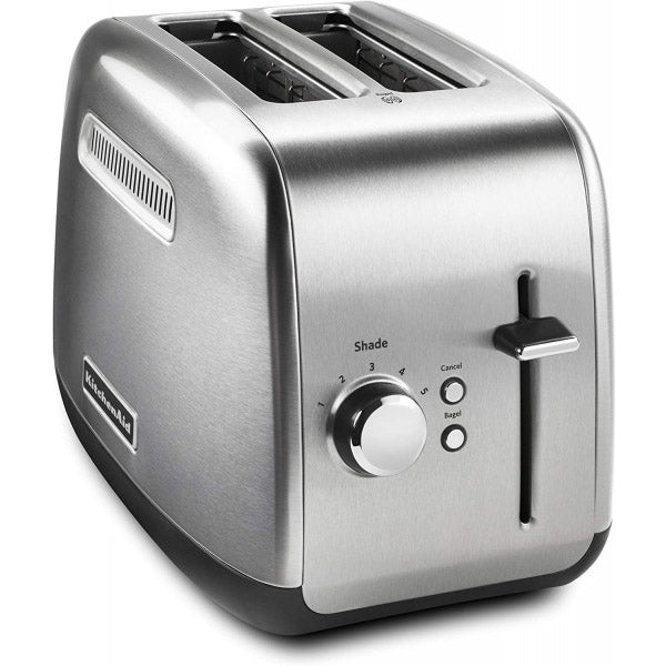 2 SLICE METAL TOASTER - MANUAL LIFT