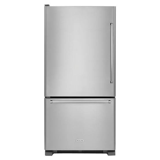 19 cu.ft. 30-Inch Width Full Depth Non Dispense Bottom Mount Refrigerator