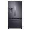 French Door Refrigerator with Twin Cooling Plus™ -FreeStanding Electric Range, Black Stainless Steel-Dishwasher with StormWash, Black Stainless Steel- 5.2 cu. ft. I.E.C. Closet-Depth Front Load Washer Dispenser- Front Load Electric Dryer