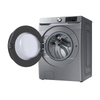 Samsung 5.2 cu. ft. Front Load & 7.5 Cu.Ft. Electric Dryer  WF45R6100AP-DVE45T6100P