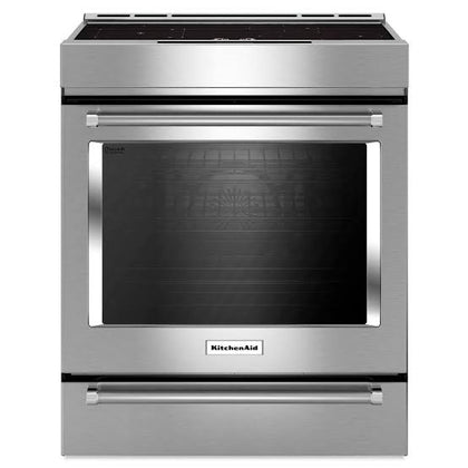 4-Burner Dual Fuel Downdraft Front Control Range