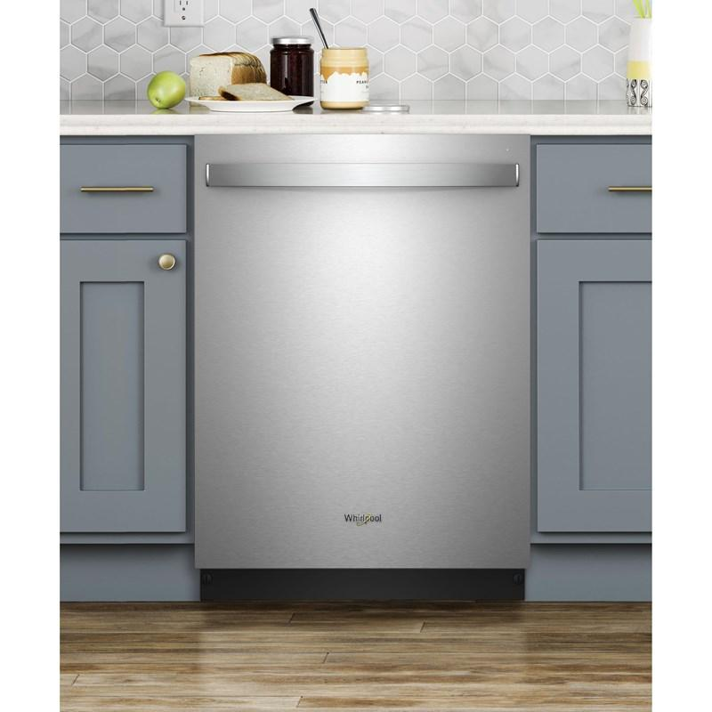 Whirlpool WDT970SAHZ Stainless Steel Tub Dishwasher with Third Level Rack