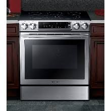 NE58H9970WS Induction Range with Virtual Flame Technology, 5.8 cu.ft