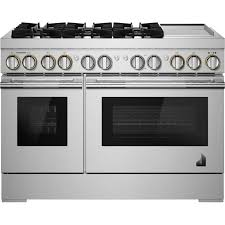 "Jenn-Air  48"" RISE  Gas Professional-Style Range with Infrared Grill"