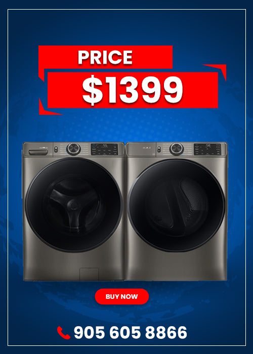 5.2 cu. ft. Front Load Washer - 7.5 Cu.Ft. Electric Dryer with Steam