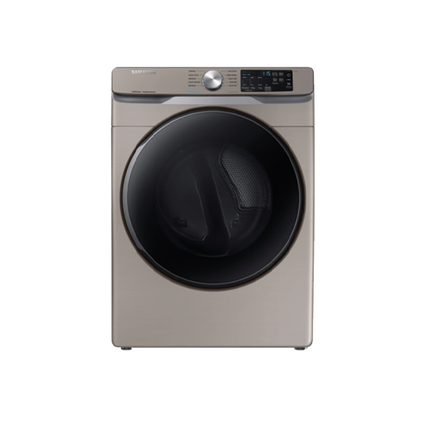 Samsung DVE45T6100C 7.5 Cu.Ft. Electric Dryer with Steam Sanitize+ in Champagne