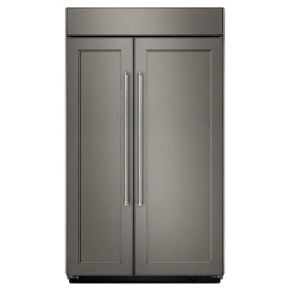 30.0 cu. ft 48-Inch Width Built-In Side by Side Refrigerator with PrintShield Finish