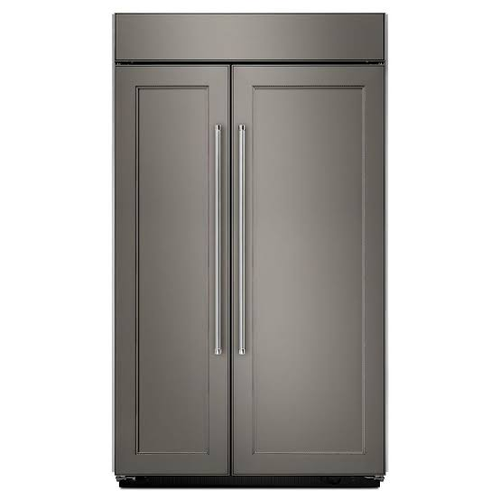 25.5 cu. ft 42-Inch Width Built-In Side by Side Refrigerator with PrintShield Finish