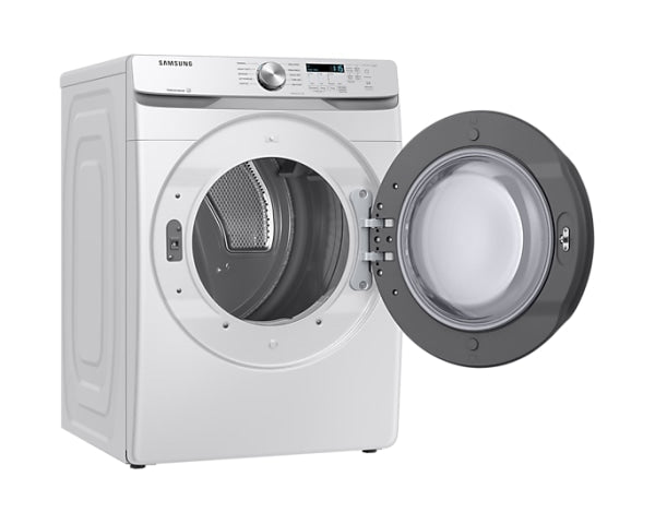Samsung DVE45T6005W 7.5 cu.ft. Electric Dryer with Shallow Depth in White