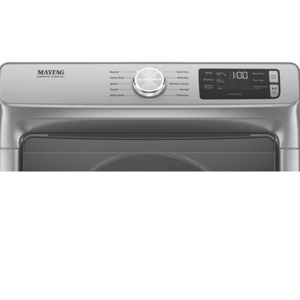 Maytag Front Load Washer  5.5 cu. ft. &  Front Load Electric Dryer  7.3 cu. ft. Pair  (MHW6630HC-YMED6630HC)