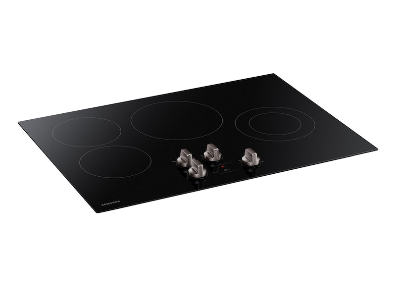 "30"" Electric Cooktop in Black"