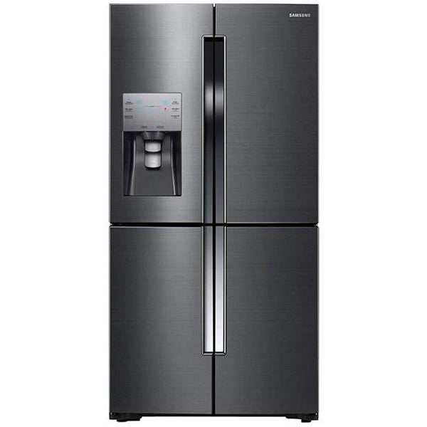 Black Stainless 4 Door Flex with Triple Cooling system, 22.5 cu.ft.