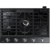 "30"" Gas Cooktop with 22K BTU Dual Power Burner, NA30N7755TS/AA (Stainless)"